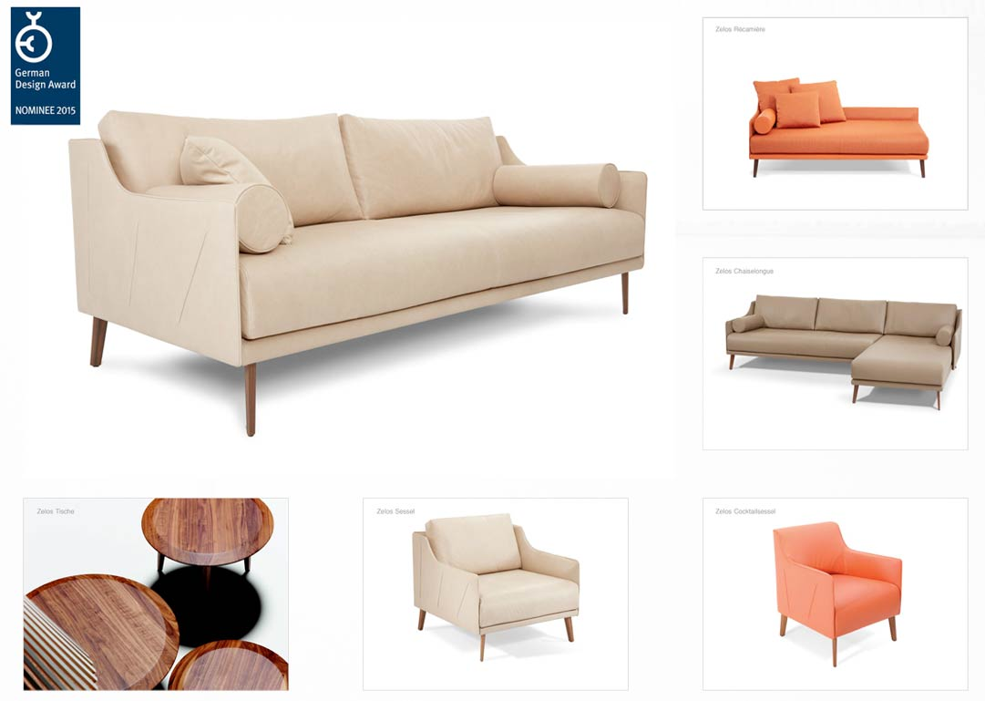 Zelos für Artanova ... Möbeldesigner Gabriela Raible innenarchitektur Product Design Möbeldesign